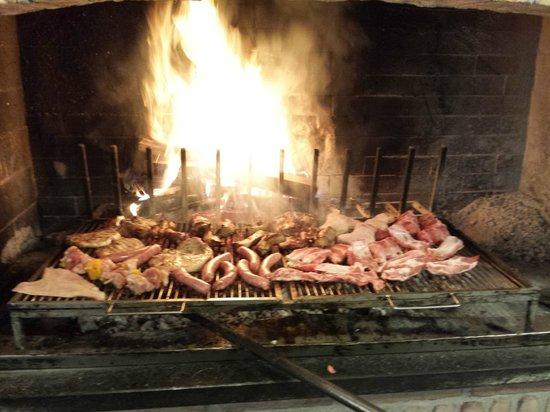 Trattoria Ghiaie Del Serio: la griglia