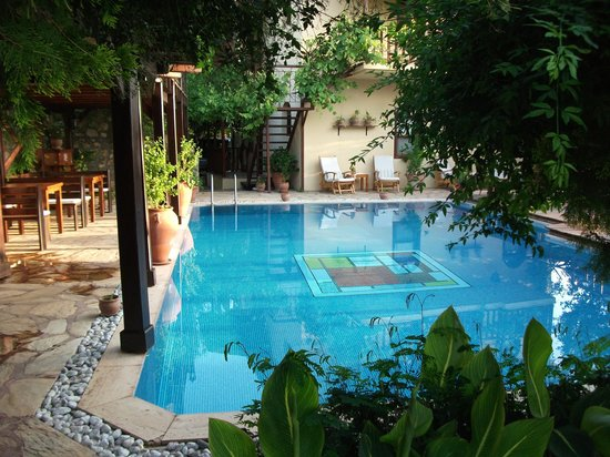 Mandarin Boutique Hotel: The pool
