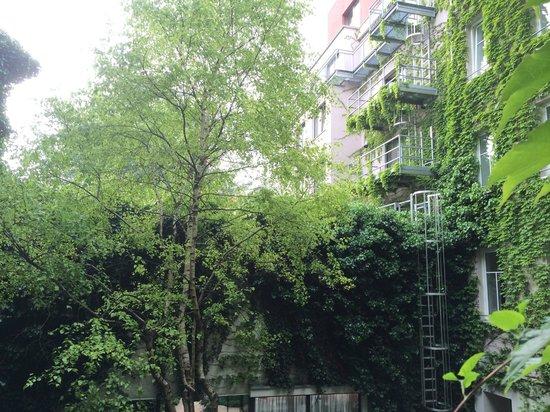 Boutique Hotel Stadthalle: Garden view