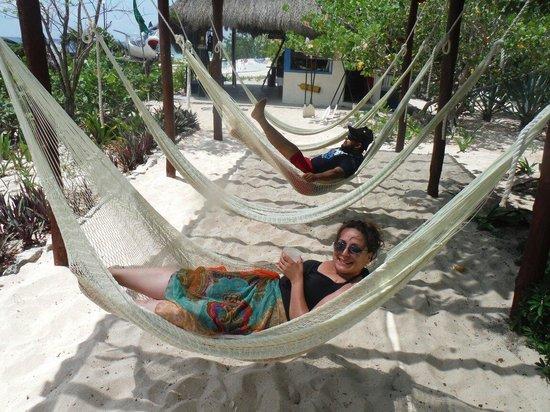 Mr Sanchos Beach Club Cozumel : Relaxing