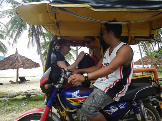 The Granada Beach House: Tricycle tours