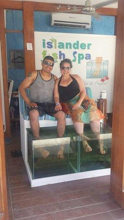 Mr Sanchos Beach Club Cozumel : Pedicures! !