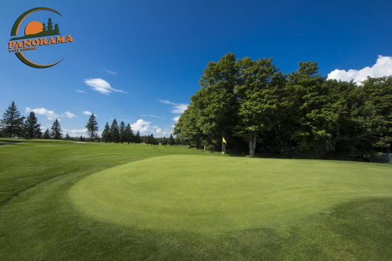Panorama Golf Course: Beautiful Blue Skies!