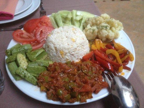 Riad Les 5 Soeurs: Une salade à la Khadija