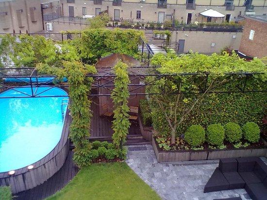 Tuinhotel: het zwembad