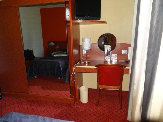 Hotel La Solitude: Bedroom