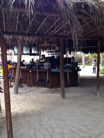 Ziggy Beach: Bar at the beach