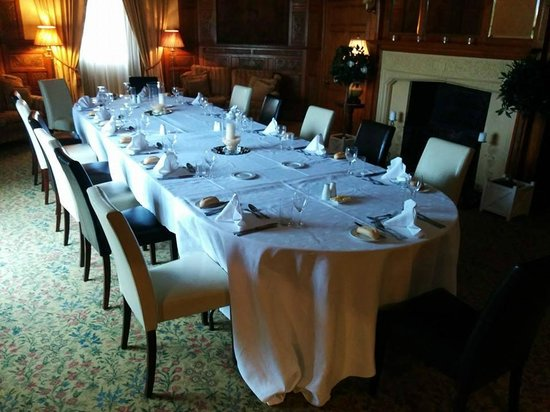 "Leasowe Castle Hotel: Our ""Private"" (Star Chamber) room provided for our Reunion Dinner."