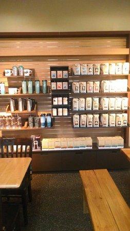 Caribou Coffee: Inside..