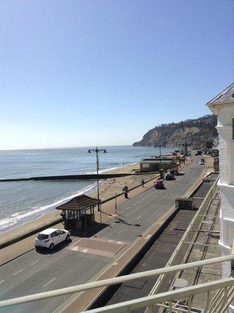 Shoreside Inn: From the balcony
