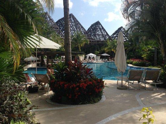 The Grand Mayan Riviera Maya: Pool by the Grand Mayan Lobby