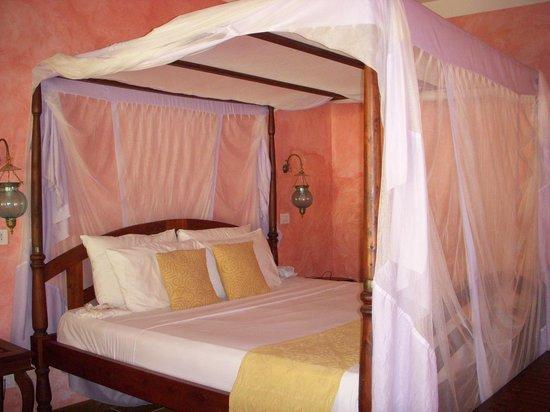 Dongwe Club : il nostro letto king size