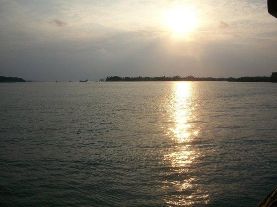 Vivanta by Taj - Malabar: Sunset over the bay