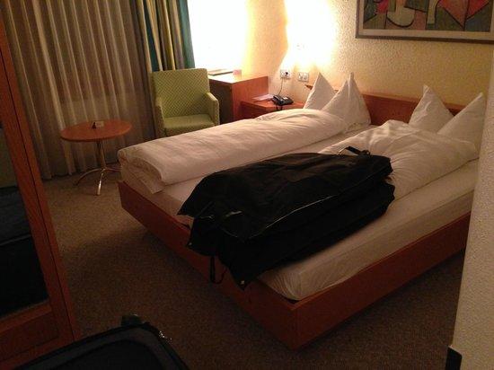 Hotel Schatzmann: bed was comfy
