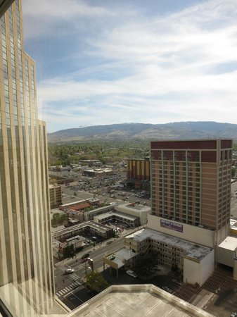 Silver Legacy Resort Casino: View from Room