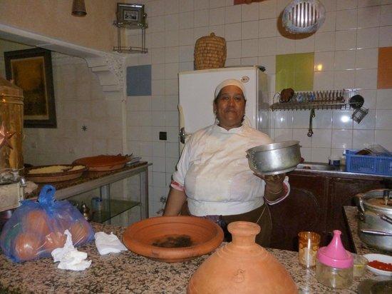 Restaurant Naima: Une cuisinière de talent !!!