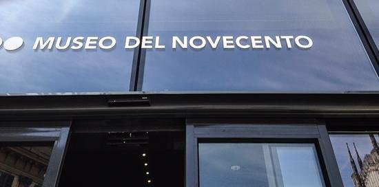 Museo del Novecento : Clear Signage