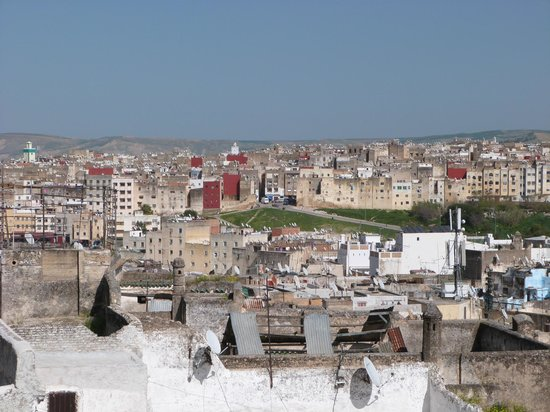 Riad La Bague de Kenza : Aussicht von der Dachterasse