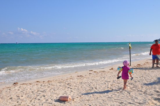 Paradisus Playa Del Carmen La Esmeralda: La plage