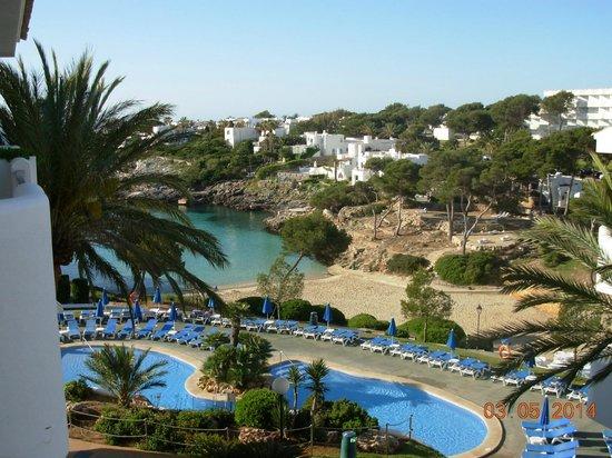 Inturotel Esmeralda Park: Vue depuis le balcon