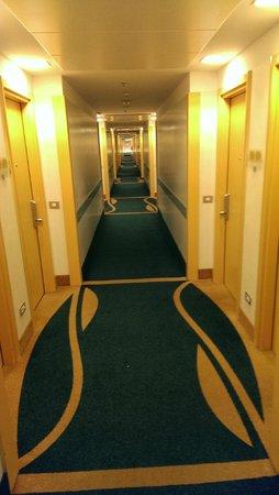 Hilton Garden Inn Rome Airport: Hallway