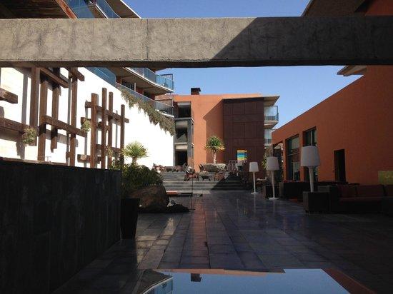 Sheraton Gran Canaria Salobre Golf Resort: Terrasse proche du Bar Lounge 230
