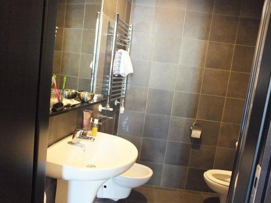 Hotel Five: Bathroom again.