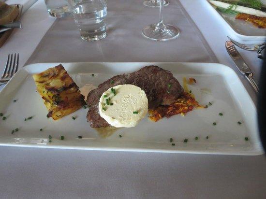 Restaurant Kyla : Beef with garlic