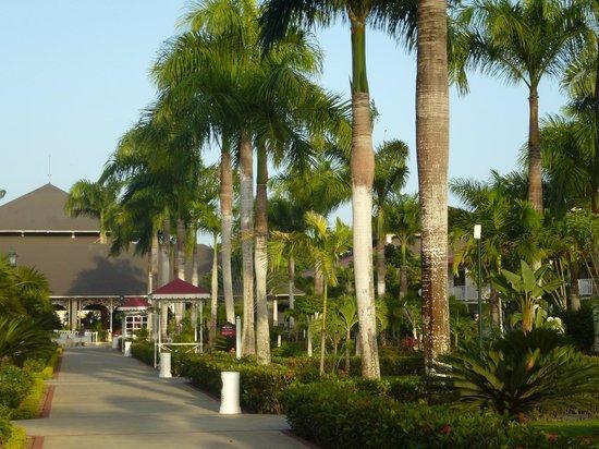 Grand Bahia Principe La Romana: Las zonas comunes tienen excelente mantenimiento