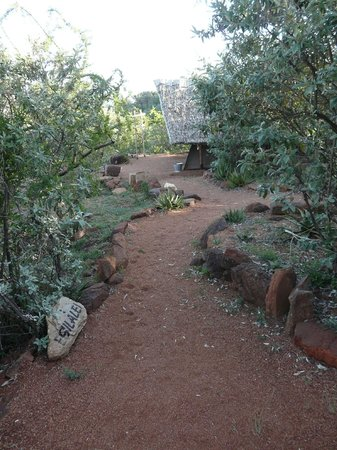 Maji Moto Eco Camp: Das Gelände zwischen den Zelten
