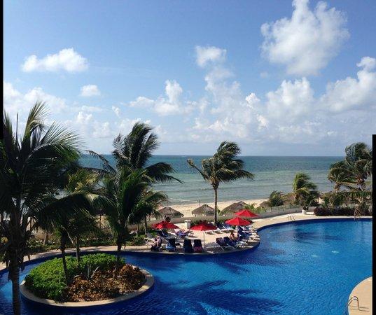 Azul Sensatori Hotel, by Karisma : view from the balcony of the room