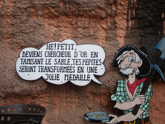 Fraispertuis City : Mine d'or