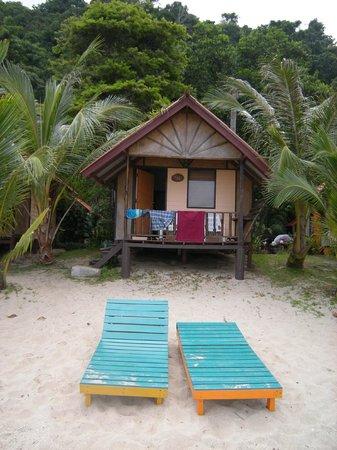 White Sand Beach Resort : Beach hut