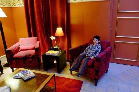 Hotel Jardin Le Brea: Coffee making area