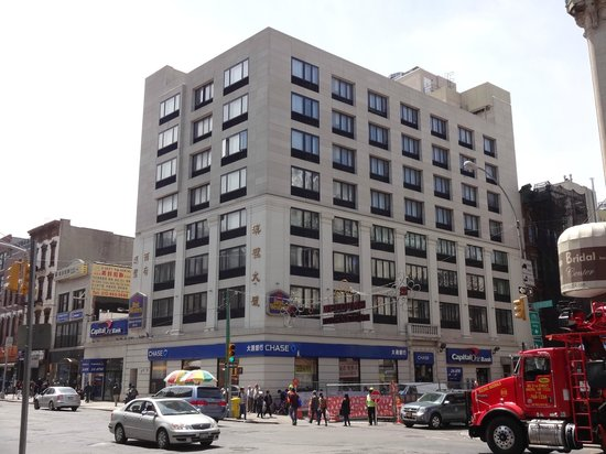 Best Western Bowery Hanbee Hotel: This is the hotel