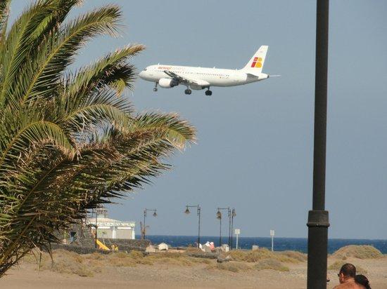 Apartamentos Guacimeta Lanzarote: Planes landing
