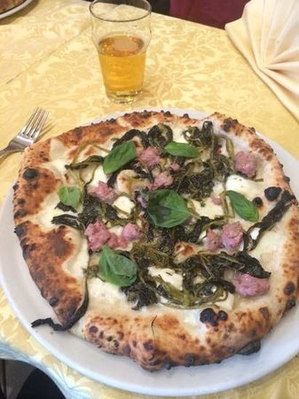 Pizzeria Manuno : La famosa Carrettiera verace