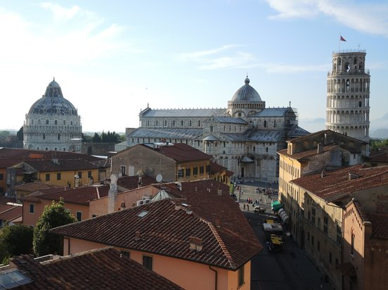 Grand Hotel Duomo : View from the roof terrace