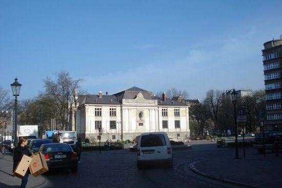 Antique Apartments Plac Szczepanski: View from balcony