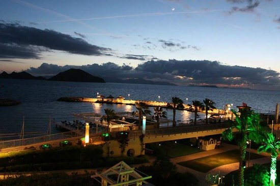 La Blanche Resort & Spa : Oda manzarası