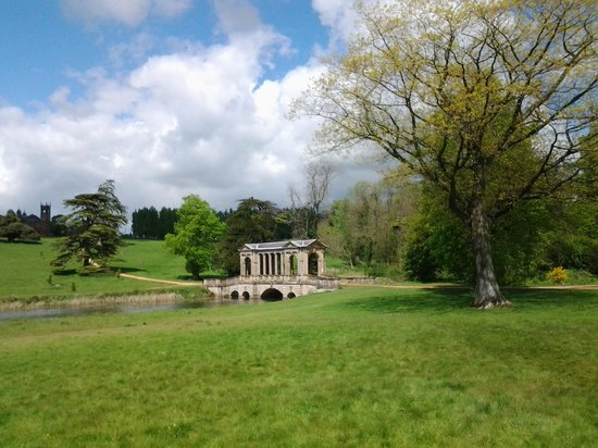 National Trust Stowe: bridge and grounds