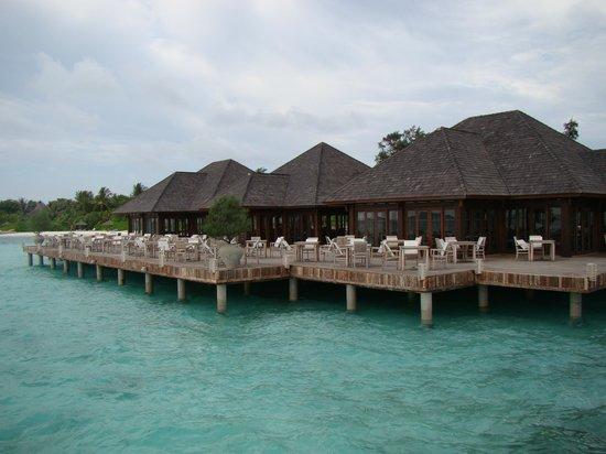 Olhuveli Beach & Spa Resort: Ресторан Lagoon