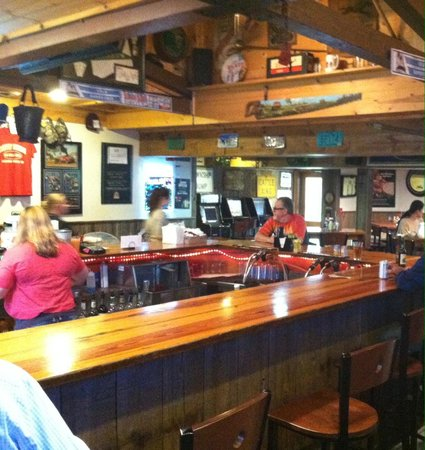 Soldiers Grove, WI: Bar Area with TV's and Grill