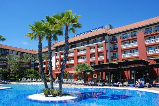 Occidental Isla Cristina: piscina y hotel