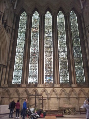 Cathédrale d'York : Una de las vidrieras