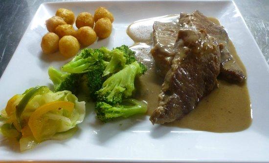 Restaurante La Mina: presa ibérica