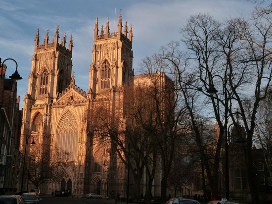 Cathédrale d'York : Exterior de la Catedral de York