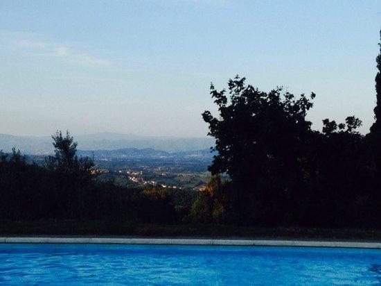 Il Castello di Gargonza: Beautiful views all around especially from the pool area
