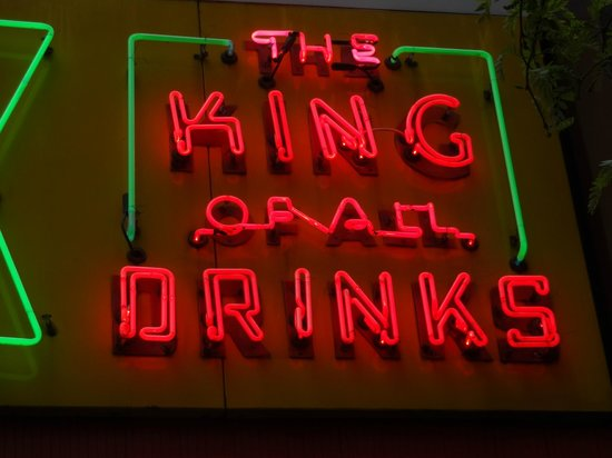 Papaya King: I had a Pina Colada drink, and it was very tasty