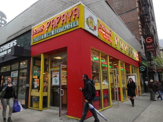 Papaya King: If you've seen this shot, you can find them with ease